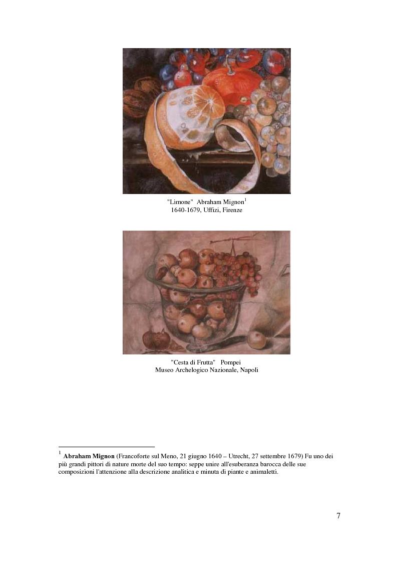 Anteprima della tesi: Il cibo nell'arte, proposta di mostra ''Mangia la Mela'', Pagina 5