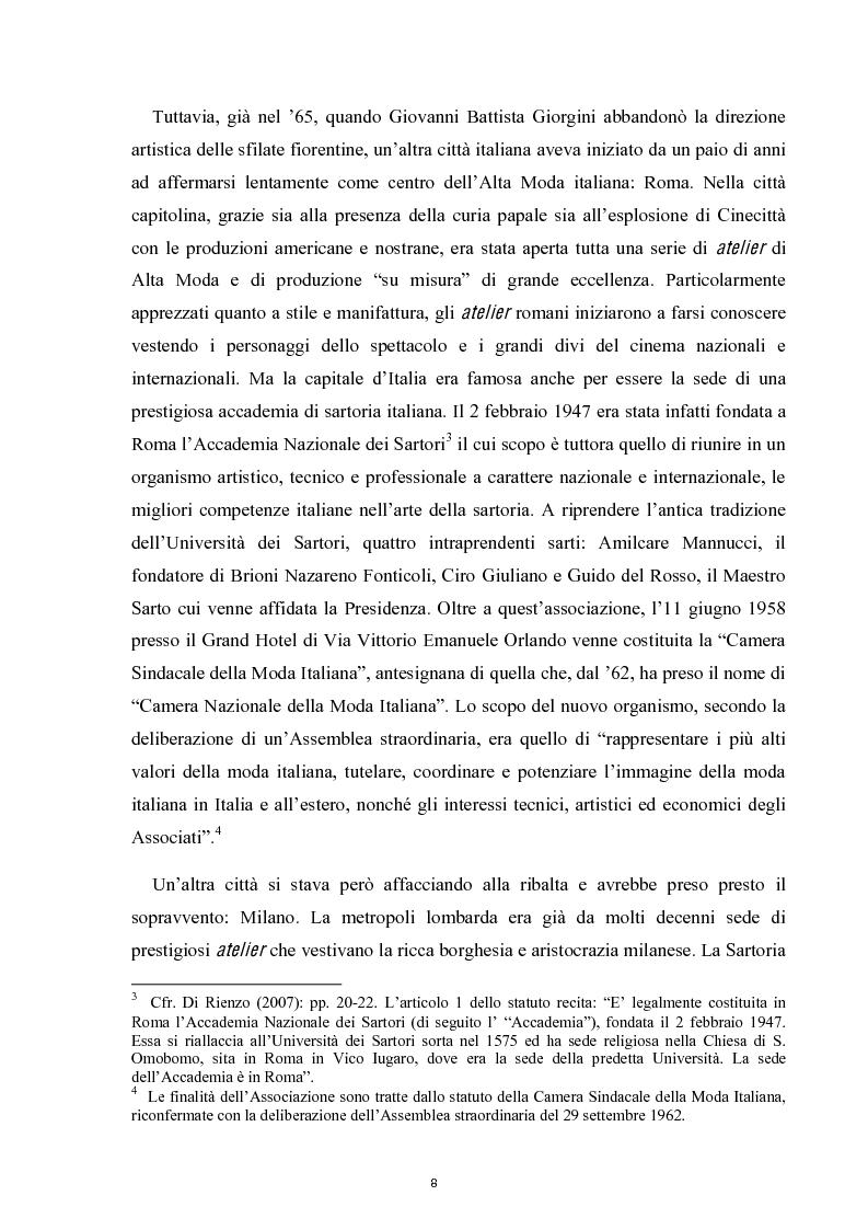 Anteprima della tesi: Linguaggi di sartorialità. La comunicazione di Pret-à-Porter e Haute Couture in Federico Sangalli, Pagina 6