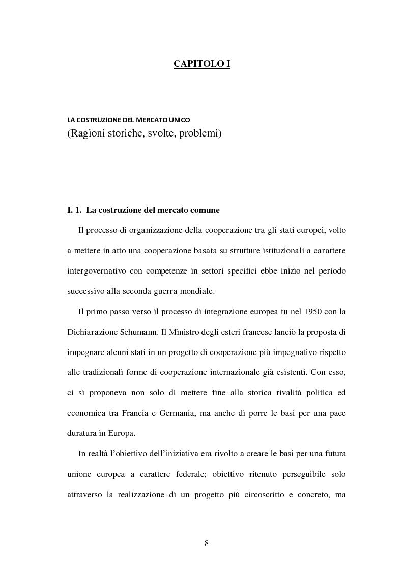 Anteprima della tesi: La politica energetica italiana tra aziendalizzazione ed europeizzazione, Pagina 1