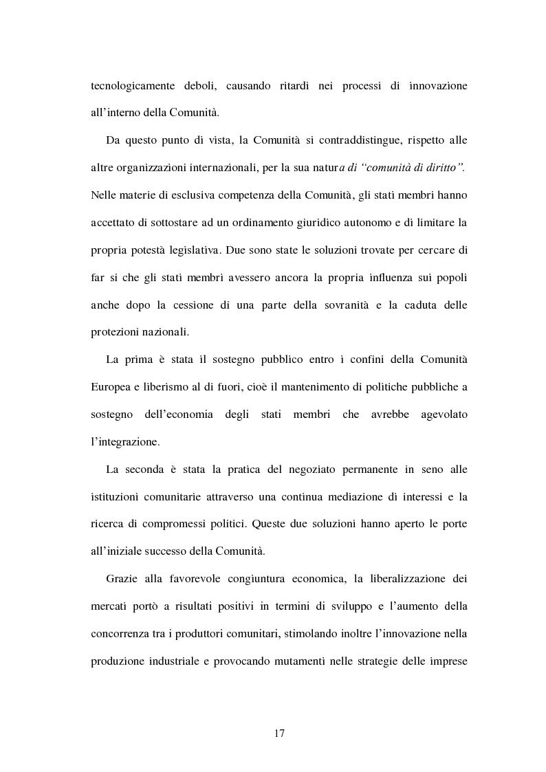 Anteprima della tesi: La politica energetica italiana tra aziendalizzazione ed europeizzazione, Pagina 10
