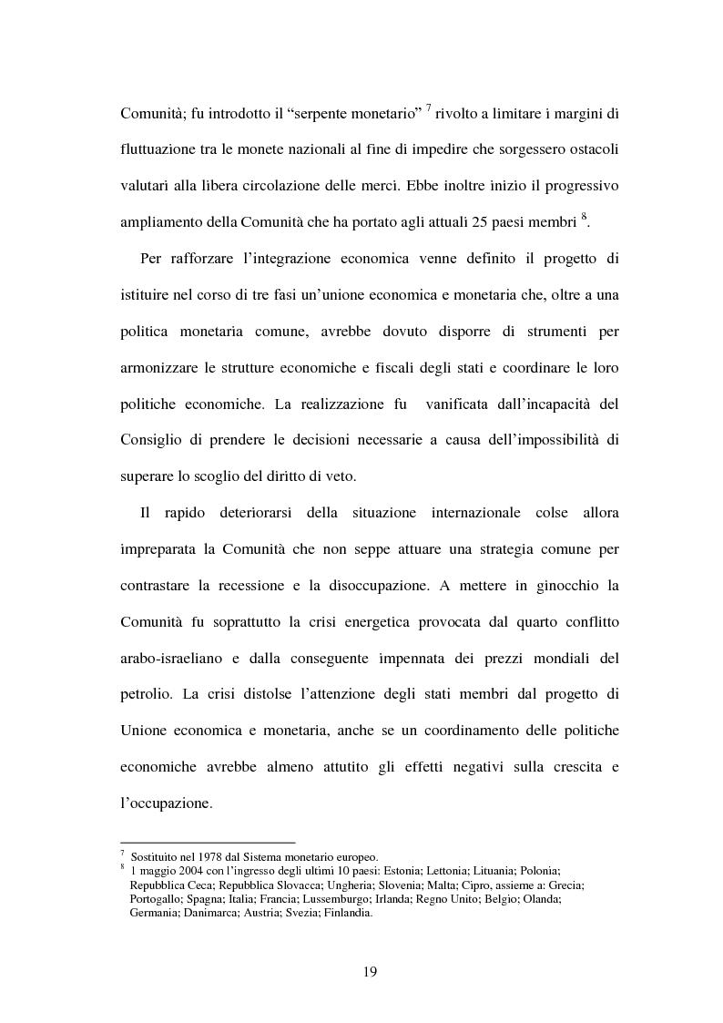 Anteprima della tesi: La politica energetica italiana tra aziendalizzazione ed europeizzazione, Pagina 12