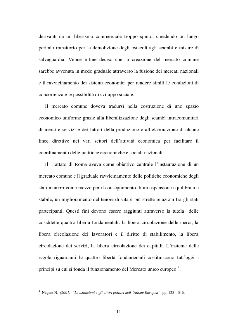Anteprima della tesi: La politica energetica italiana tra aziendalizzazione ed europeizzazione, Pagina 4