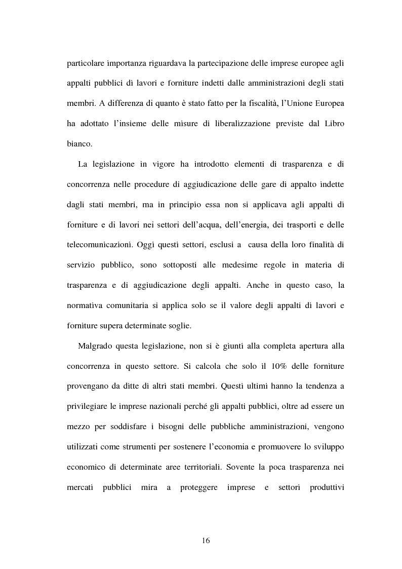 Anteprima della tesi: La politica energetica italiana tra aziendalizzazione ed europeizzazione, Pagina 9