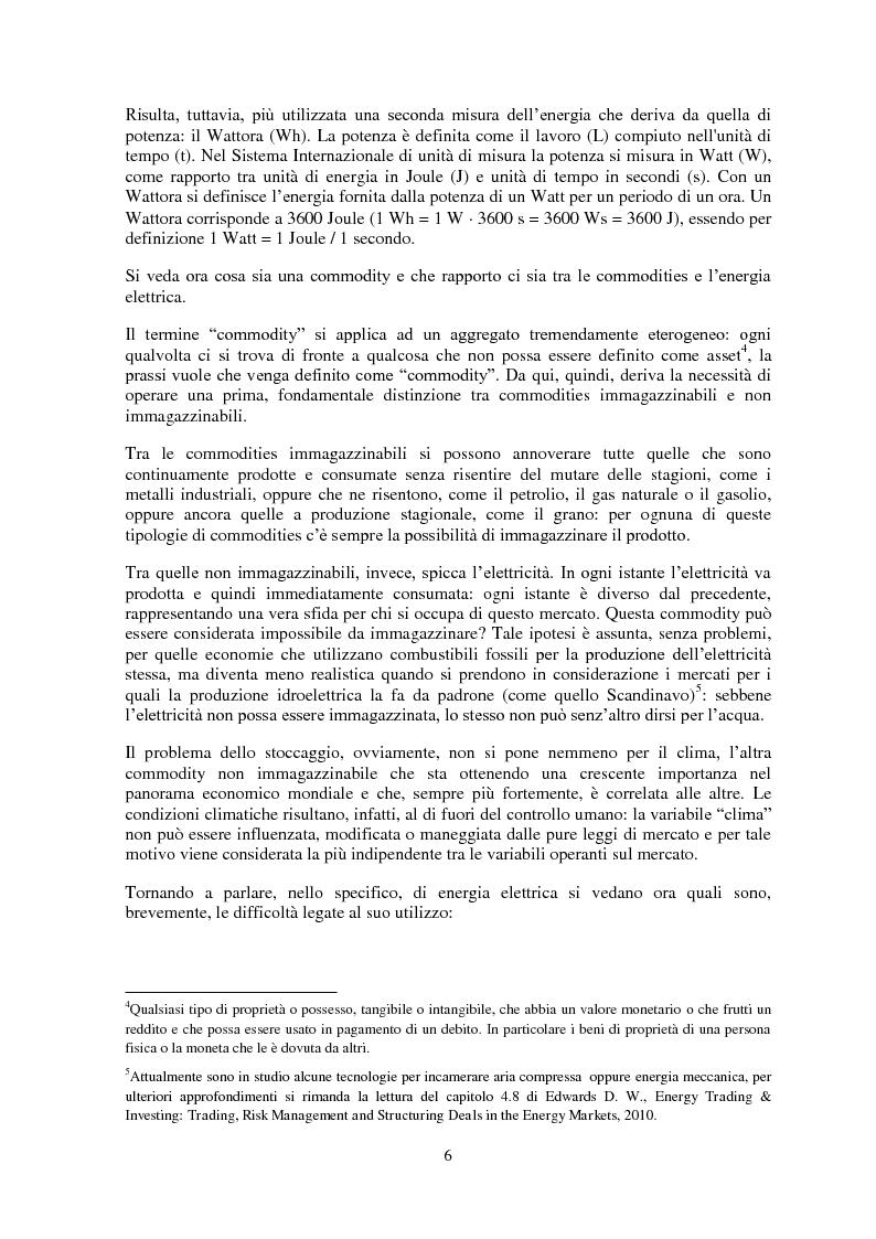 Anteprima della tesi: La gestione del rischio nel mercato elettrico, Pagina 5
