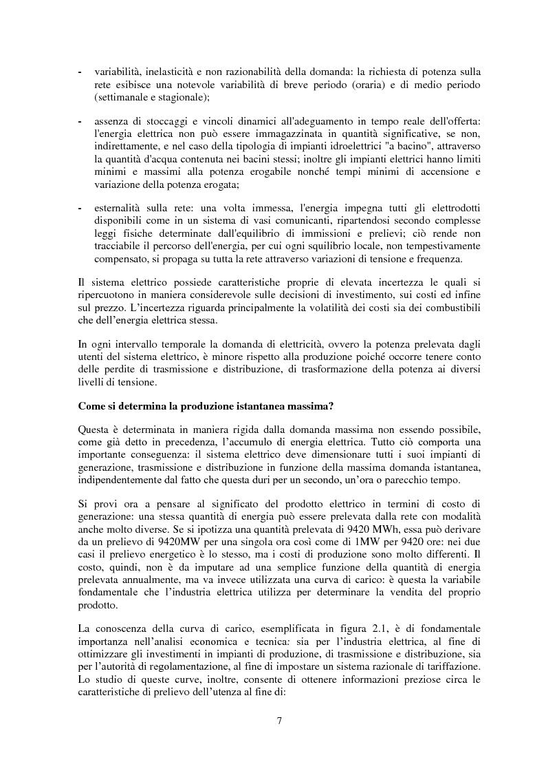 Anteprima della tesi: La gestione del rischio nel mercato elettrico, Pagina 6