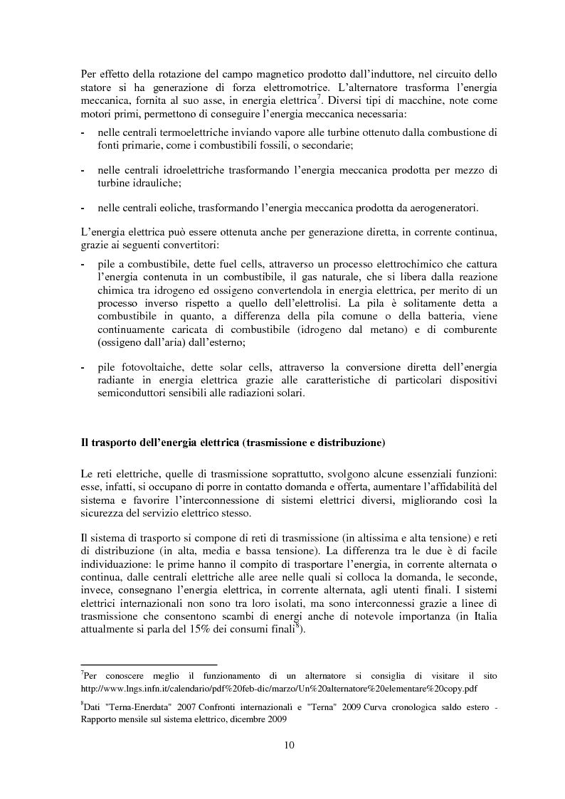 Anteprima della tesi: La gestione del rischio nel mercato elettrico, Pagina 9