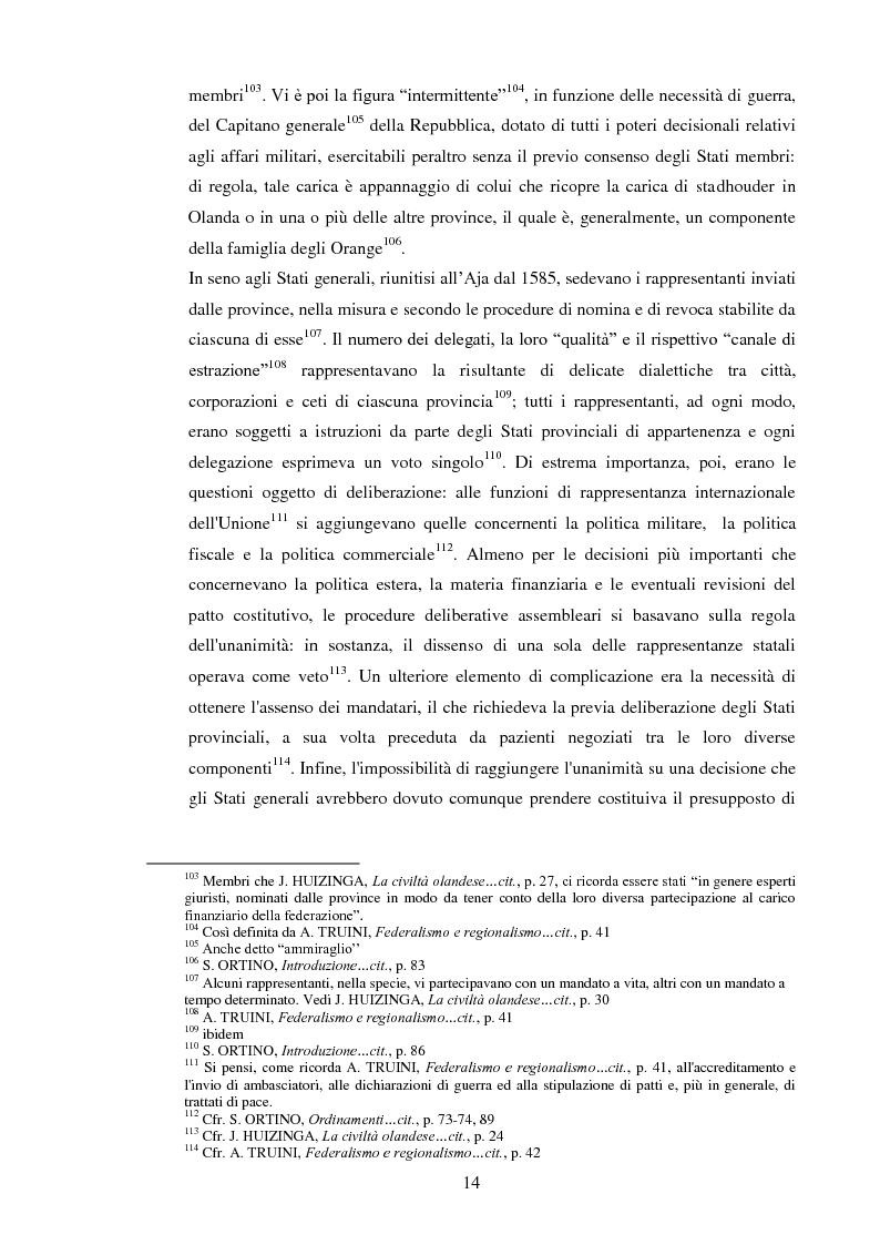 Anteprima della tesi: Regionalismo e federalismo in Italia e in Germania. Due modelli a confronto e profili di cooperazione transfrontaliera., Pagina 14