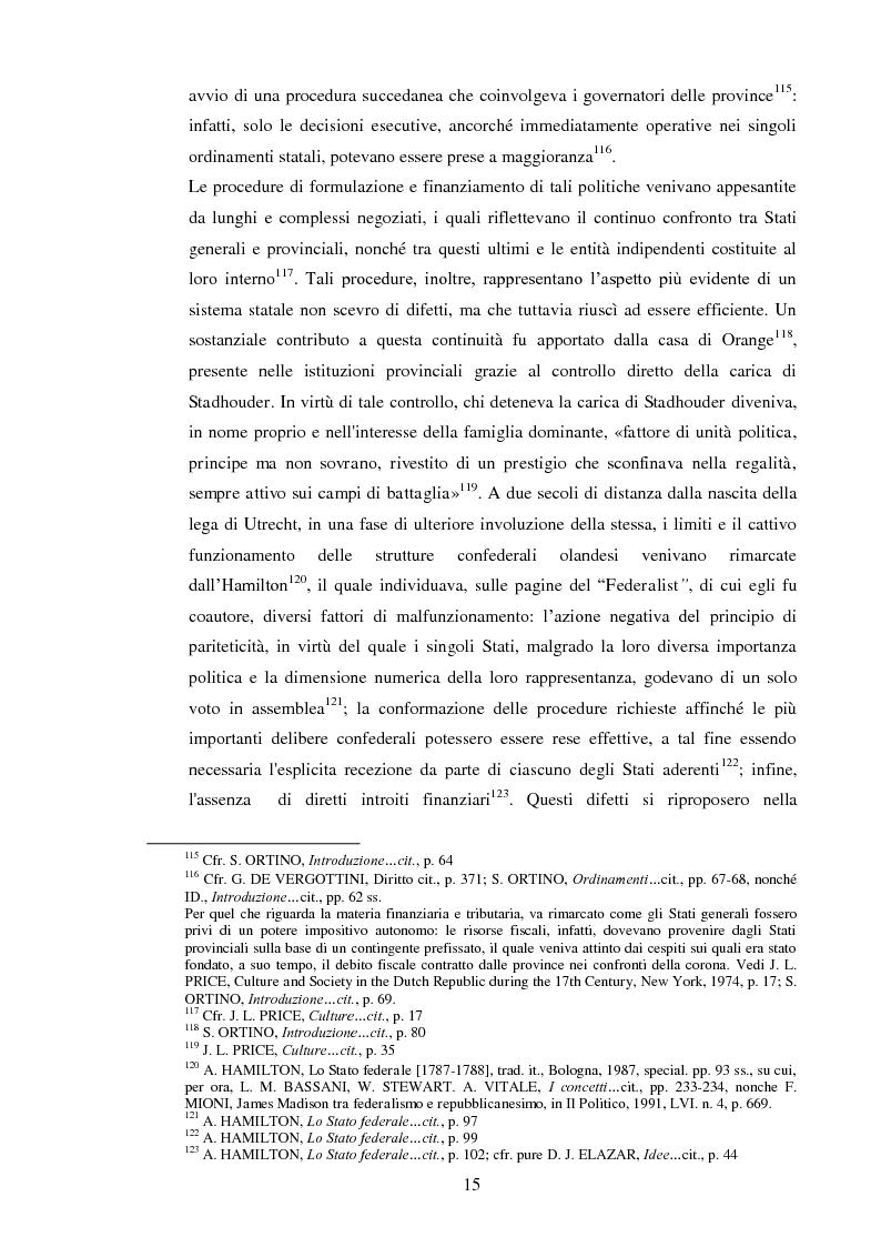 Anteprima della tesi: Regionalismo e federalismo in Italia e in Germania. Due modelli a confronto e profili di cooperazione transfrontaliera., Pagina 15