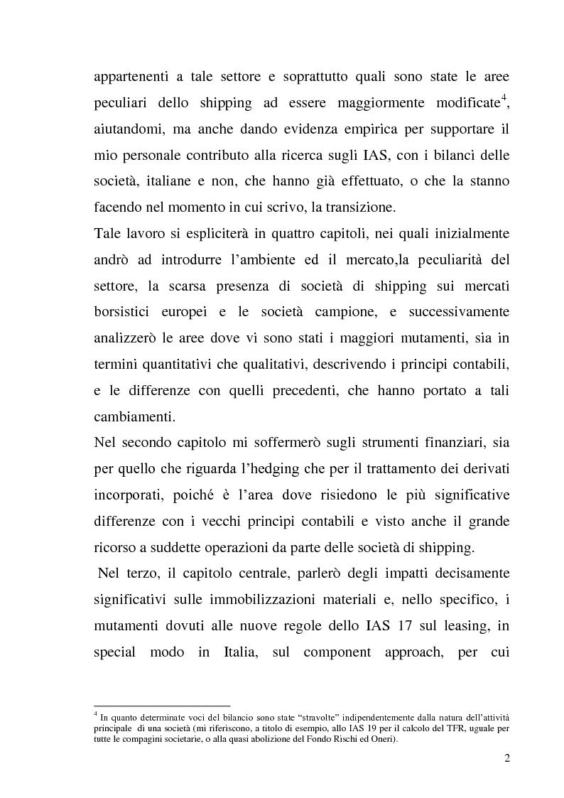 Anteprima della tesi: L'adozione degli IAS-IFRS nelle imprese armatoriali, Pagina 2