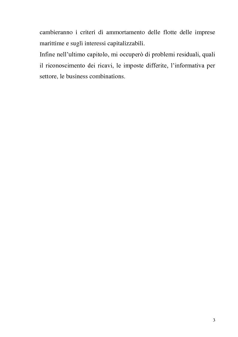 Anteprima della tesi: L'adozione degli IAS-IFRS nelle imprese armatoriali, Pagina 3
