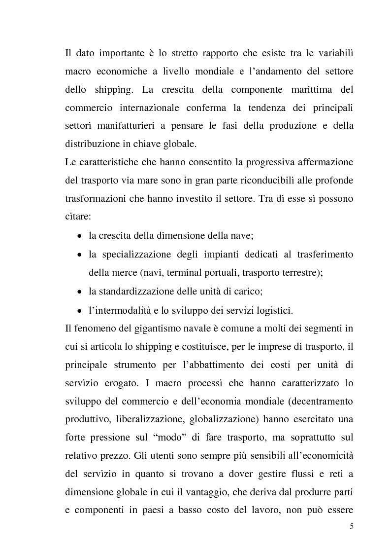 Anteprima della tesi: L'adozione degli IAS-IFRS nelle imprese armatoriali, Pagina 5