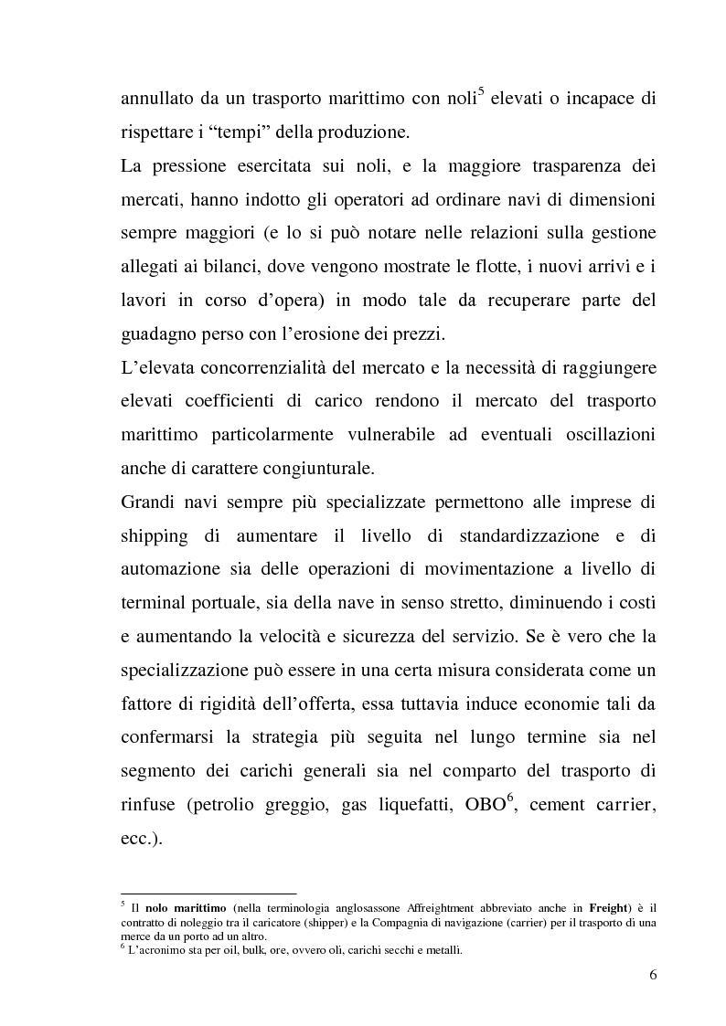 Anteprima della tesi: L'adozione degli IAS-IFRS nelle imprese armatoriali, Pagina 6