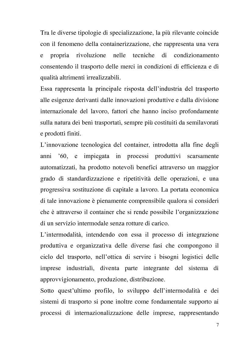 Anteprima della tesi: L'adozione degli IAS-IFRS nelle imprese armatoriali, Pagina 7