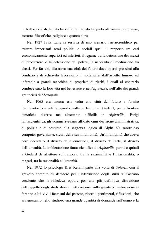 Anteprima della tesi: 2001: odissea nello spazio, analisi del film, Pagina 4