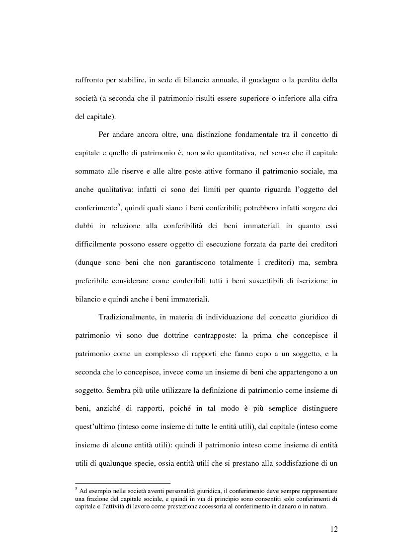 Anteprima della tesi: La riduzione del capitale sociale nella società per azioni , Pagina 4