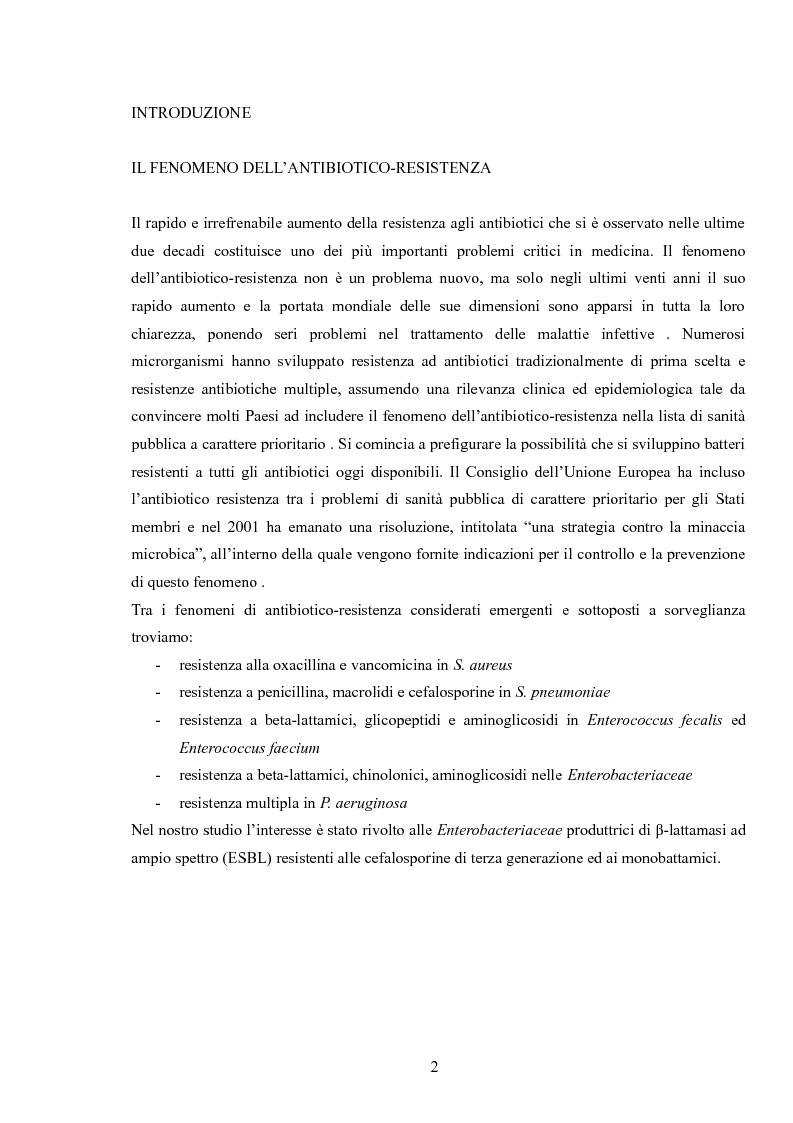 Esbl thesis