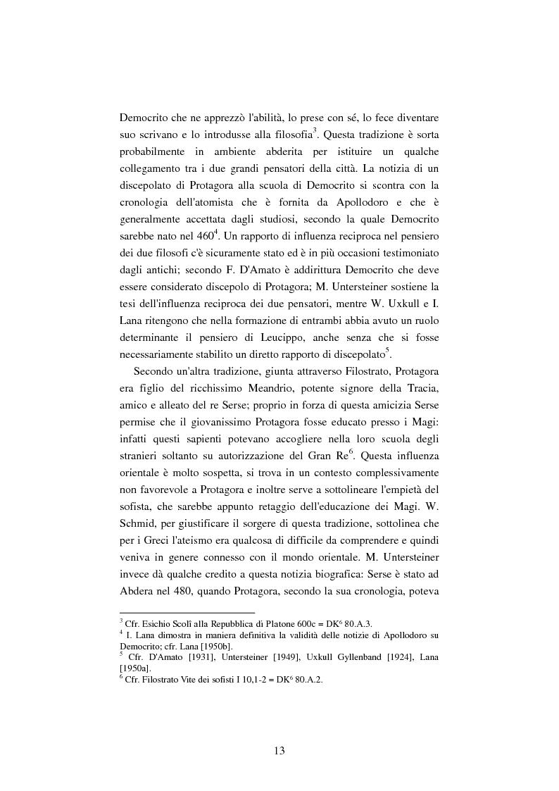 Anteprima della tesi: Il filosofo della polis. Democrazia e giustizia nel pensiero di Protagora., Pagina 11