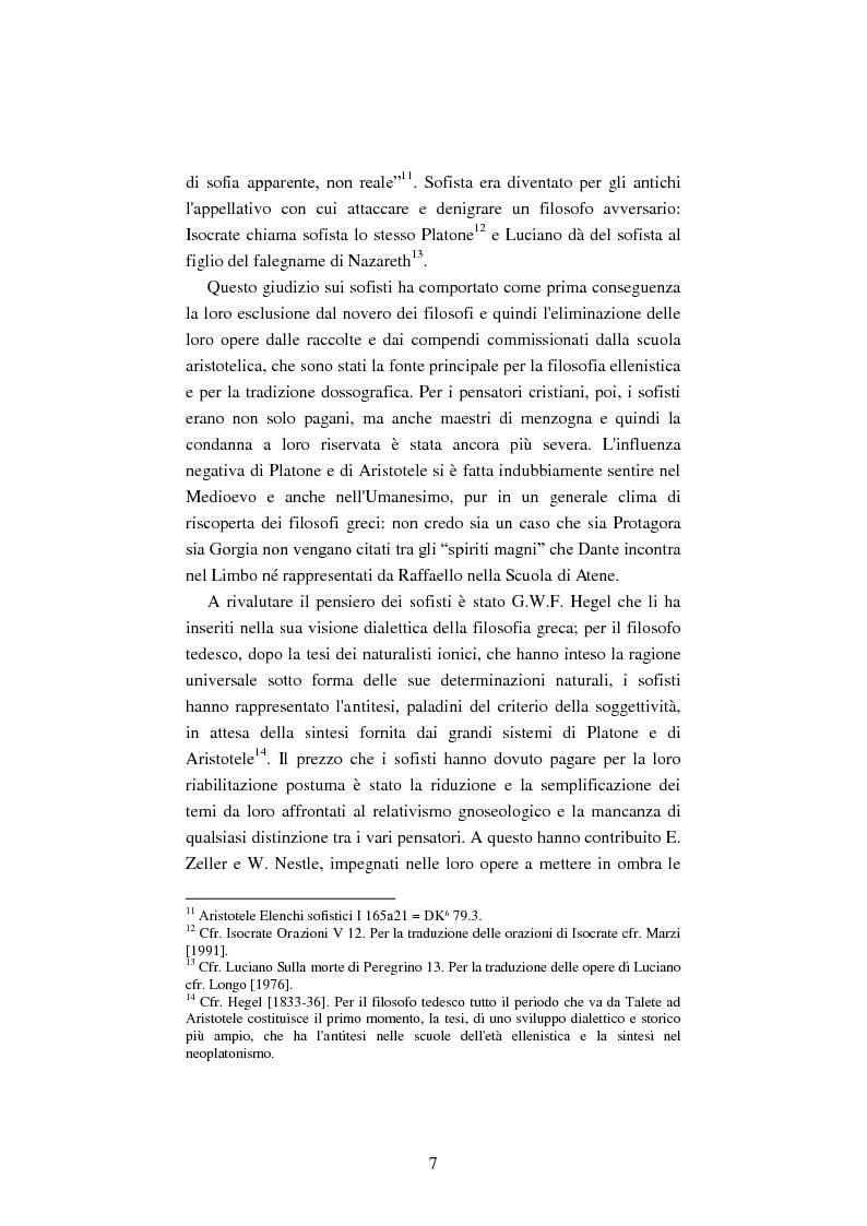 Anteprima della tesi: Il filosofo della polis. Democrazia e giustizia nel pensiero di Protagora., Pagina 5