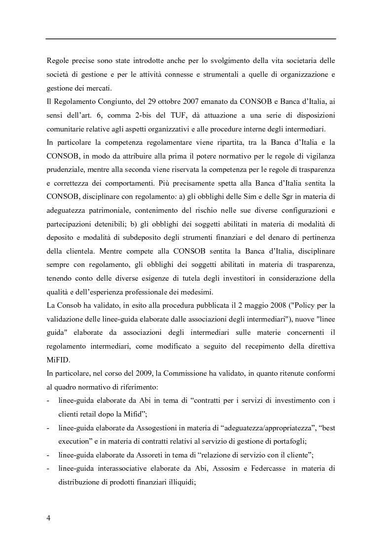 Anteprima della tesi: La consulenza finanziaria fee only, Pagina 3