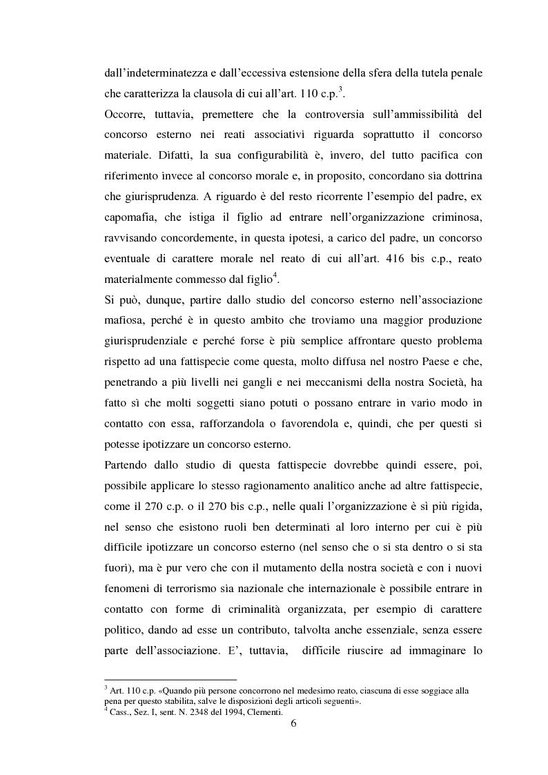 Anteprima della tesi: Il concorso eventuale di persone nel reato plurisoggettivo, Pagina 3