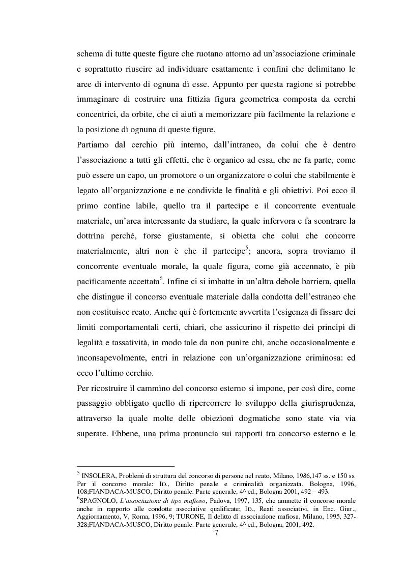 Anteprima della tesi: Il concorso eventuale di persone nel reato plurisoggettivo, Pagina 4