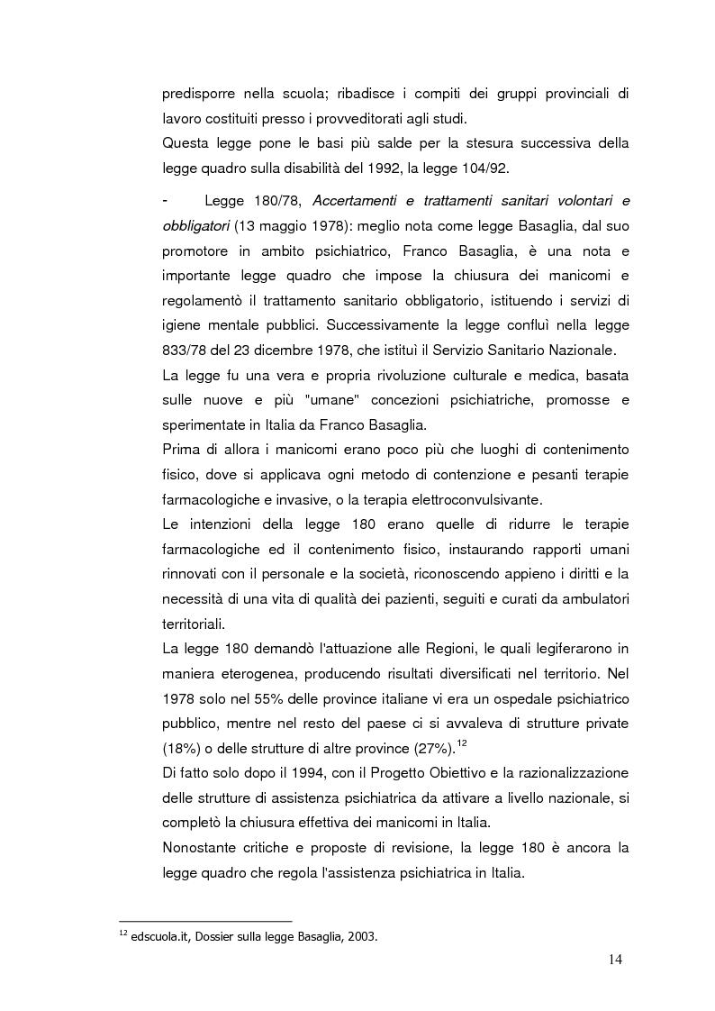 Anteprima della tesi: Bambini in cammino: erranza educativa e disagio in comunità per minori, Pagina 10