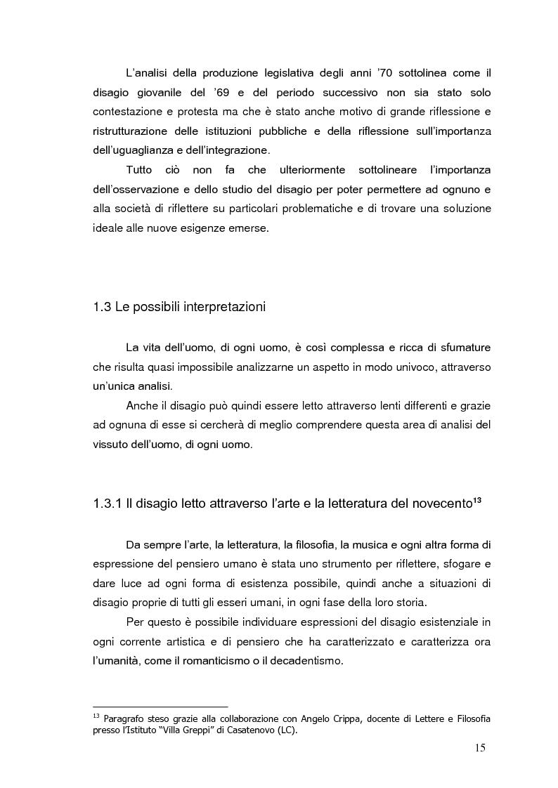Anteprima della tesi: Bambini in cammino: erranza educativa e disagio in comunità per minori, Pagina 11