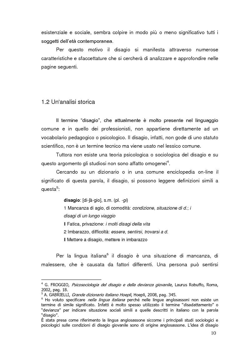 Anteprima della tesi: Bambini in cammino: erranza educativa e disagio in comunità per minori, Pagina 6