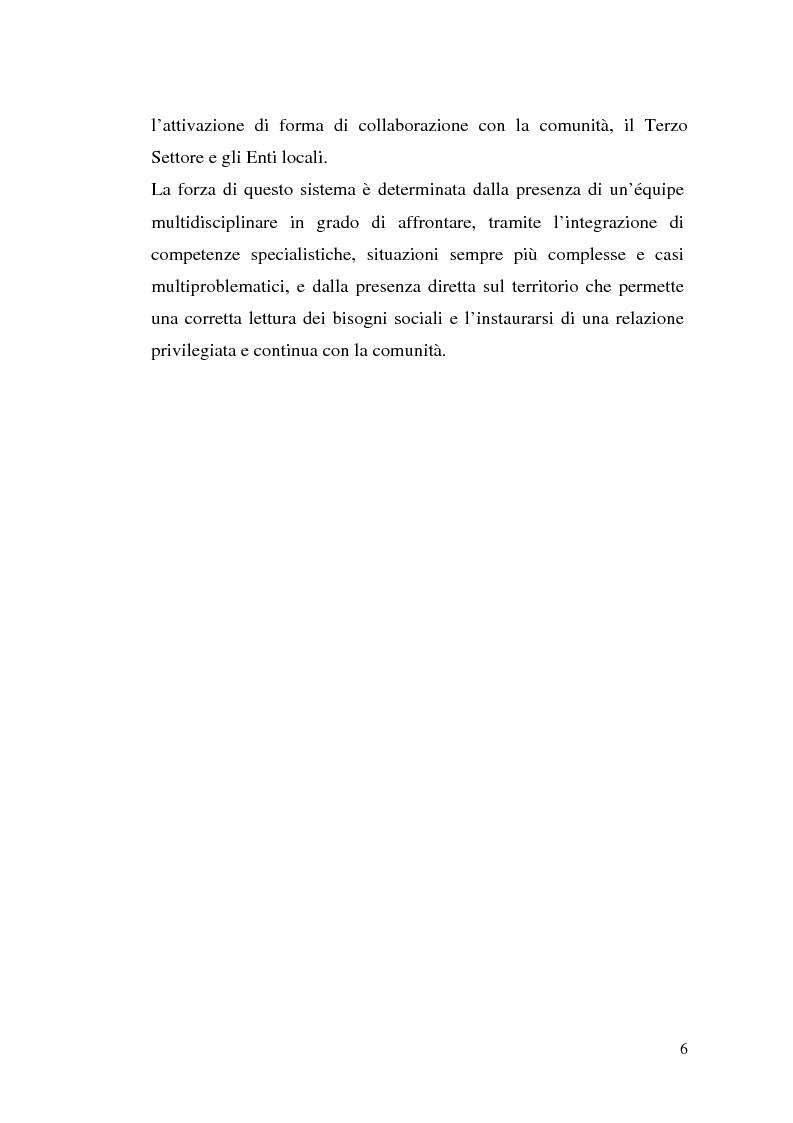 Anteprima della tesi: L'attuazione della 328/00: il caso di Campobasso, Pagina 3