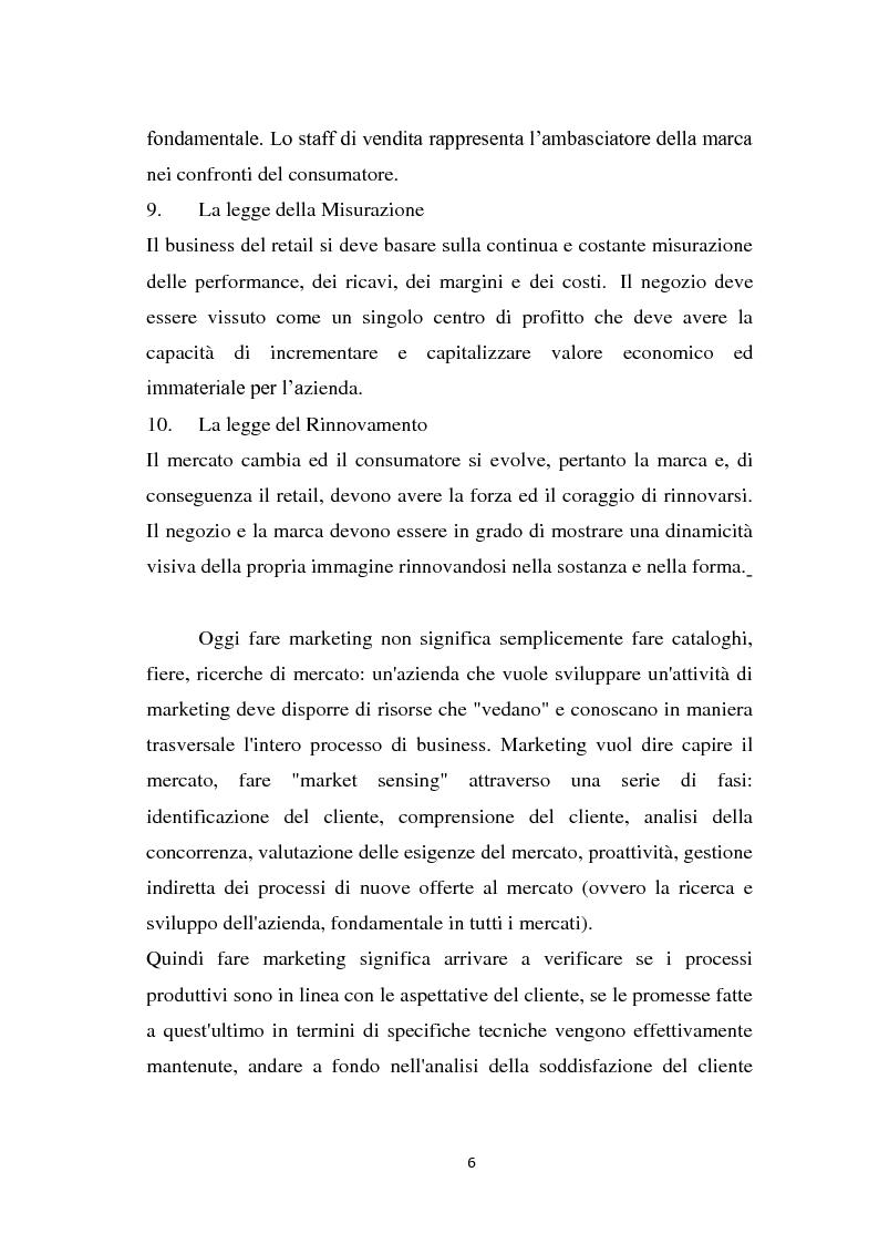 Anteprima della tesi: Le strategie di marketing delle imprese di moda. Tre casi a confronto: Gucci; Dolce & Gabbana; Mariella Burani., Pagina 5