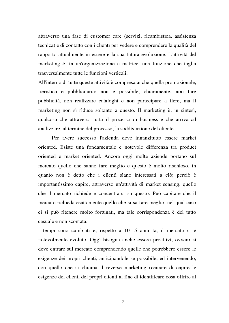 Anteprima della tesi: Le strategie di marketing delle imprese di moda. Tre casi a confronto: Gucci; Dolce & Gabbana; Mariella Burani., Pagina 6