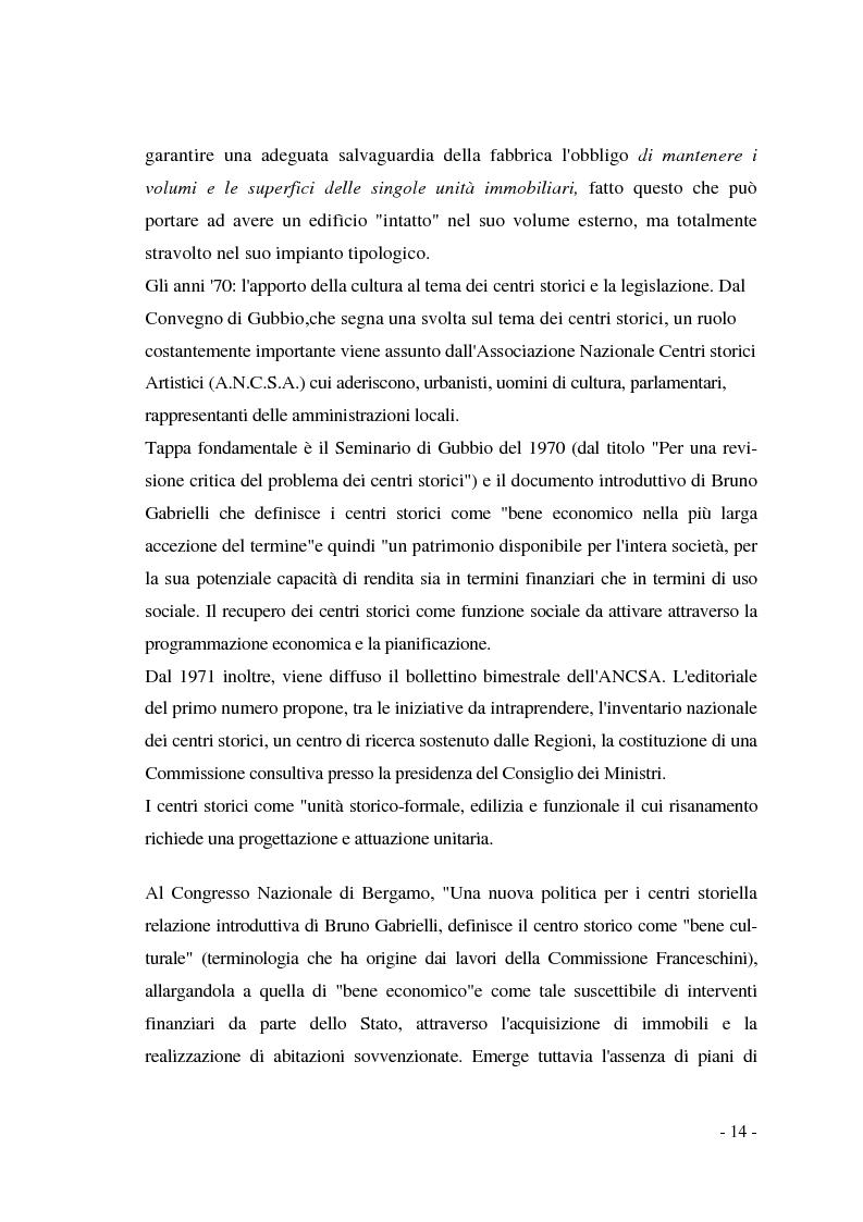 Anteprima della tesi: Pianificazione dei centri storici tra tradizione ed innovazione: una proposta per Capua, Pagina 10