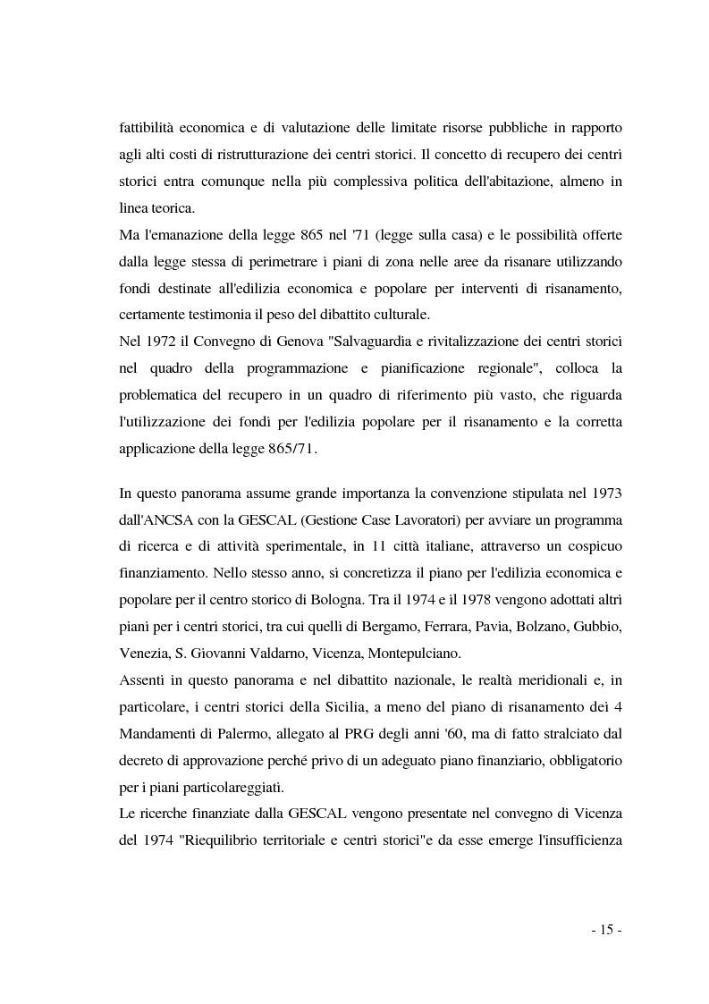Anteprima della tesi: Pianificazione dei centri storici tra tradizione ed innovazione: una proposta per Capua, Pagina 11