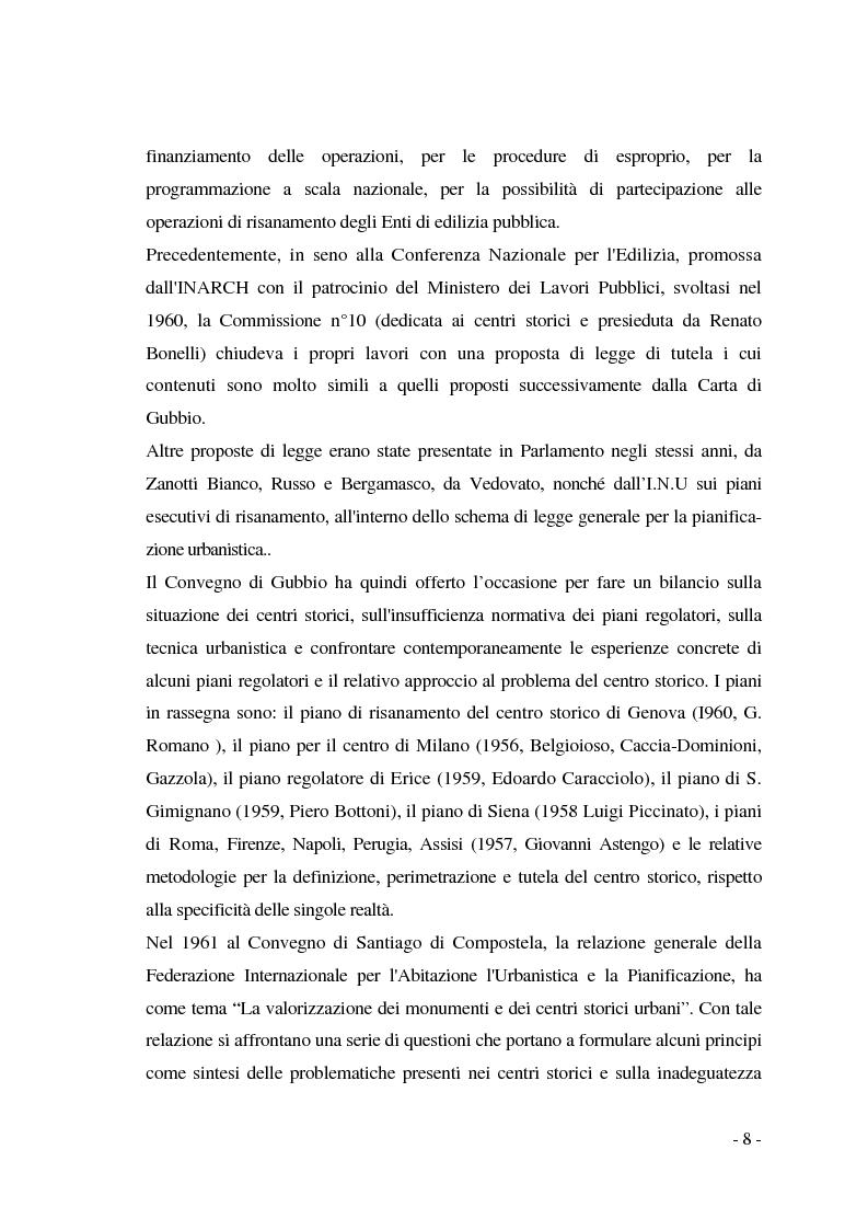 Anteprima della tesi: Pianificazione dei centri storici tra tradizione ed innovazione: una proposta per Capua, Pagina 4