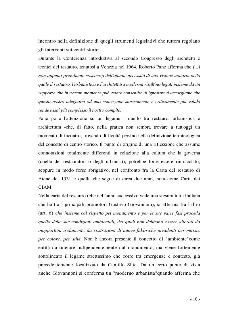 Anteprima della tesi: Pianificazione dei centri storici tra tradizione ed innovazione: una proposta per Capua, Pagina 6