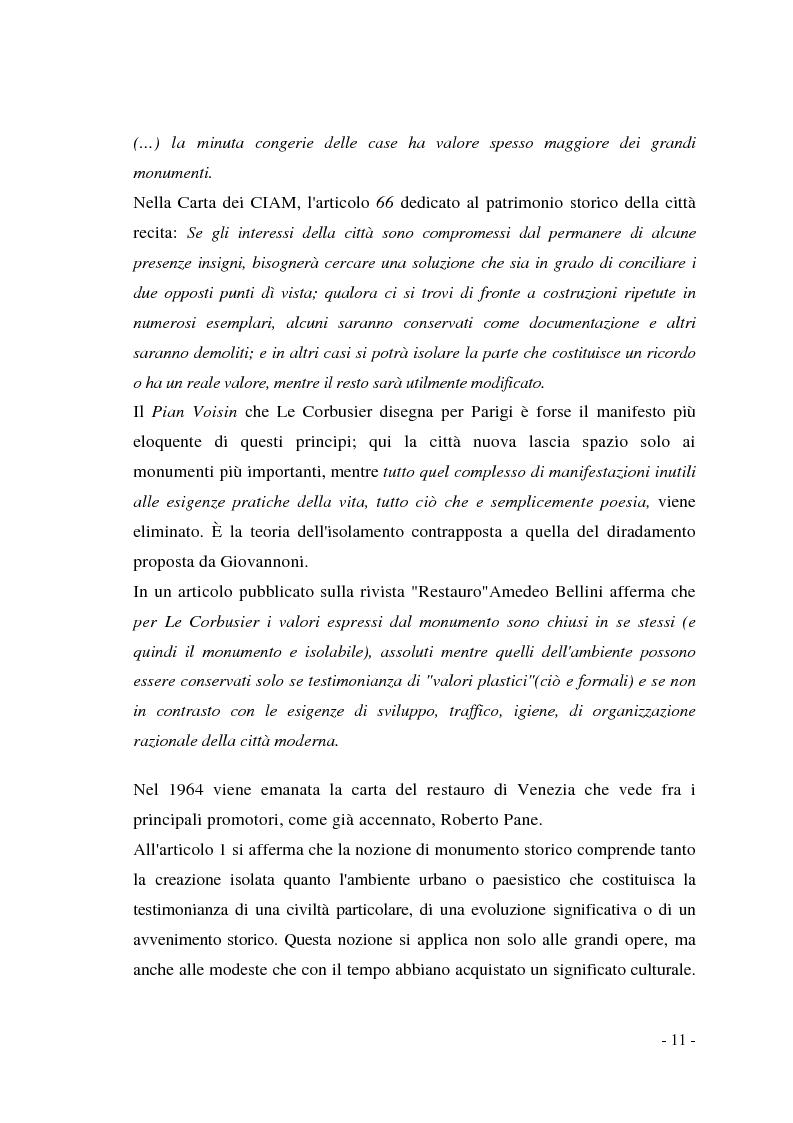 Anteprima della tesi: Pianificazione dei centri storici tra tradizione ed innovazione: una proposta per Capua, Pagina 7