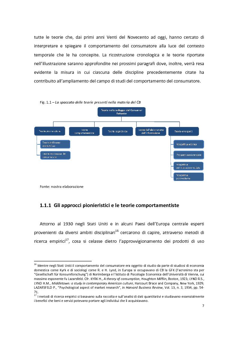 Anteprima della tesi: Modelli di Consumer Behavior per la determinazione dei fattori critici di successo nell'industria automobilistica: il caso Fiat 500, Pagina 11