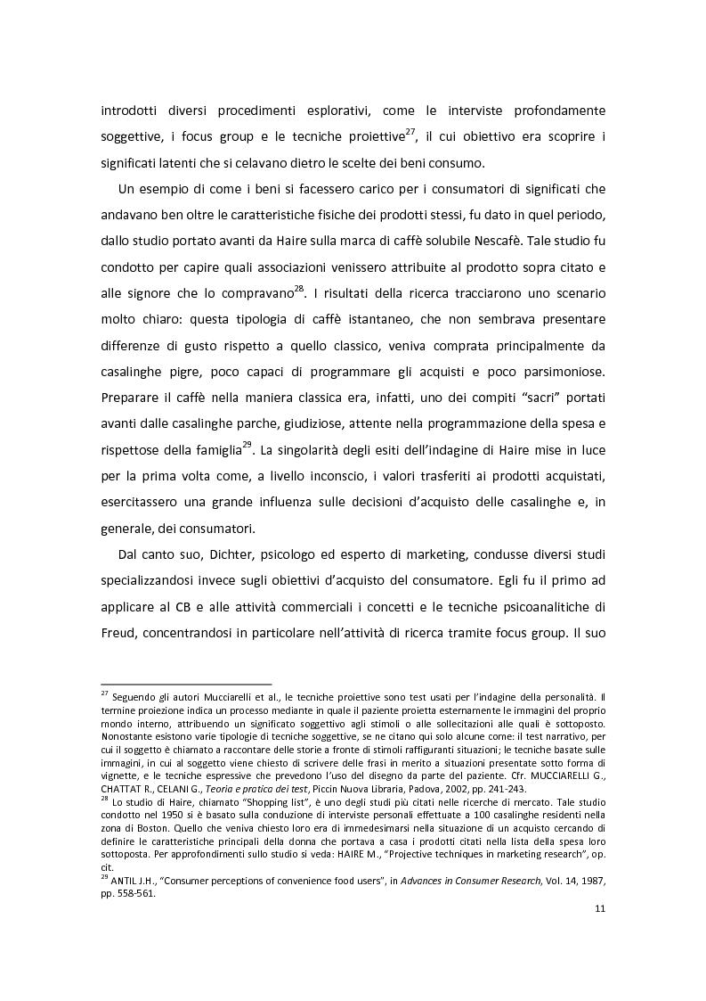 Anteprima della tesi: Modelli di Consumer Behavior per la determinazione dei fattori critici di successo nell'industria automobilistica: il caso Fiat 500, Pagina 15