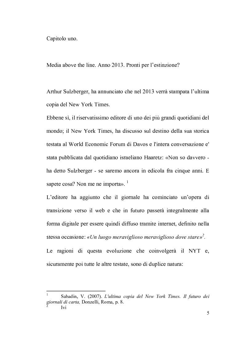 Anteprima della tesi: La brand image automobilistica corre sui nuovi media, Pagina 4