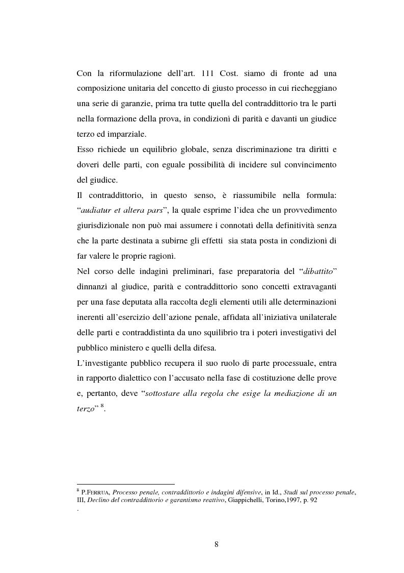 Anteprima della tesi: I poteri probatori del giudice, Pagina 8