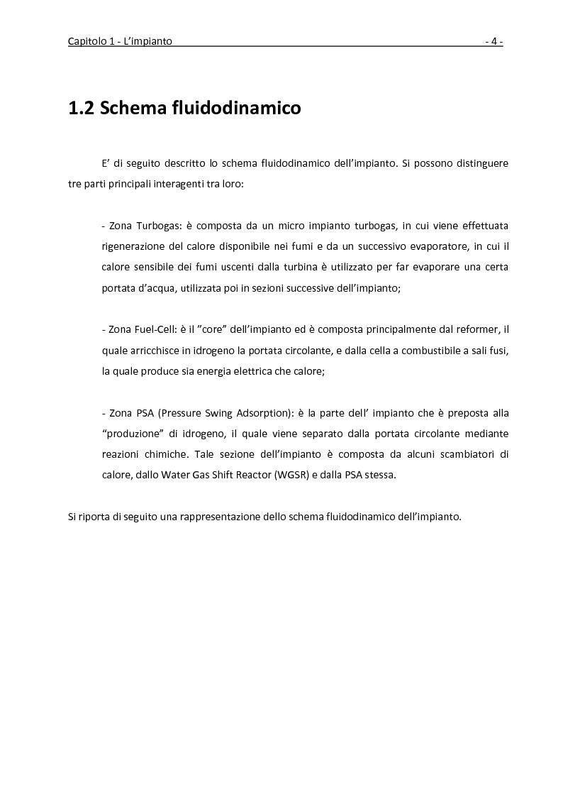 Anteprima della tesi: Ottimizzazione dei recuperi termici in un impianto con cella a combustibile a carbonati fusi tramite la tecnica della pinch analysis, Pagina 5