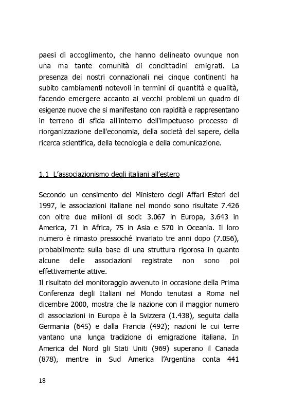 Anteprima della tesi: L'Italia vista dal mondo – Indagine sulla tv per gli italiani all'estero, Pagina 11
