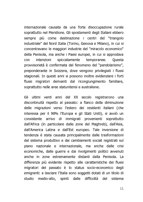 Anteprima della tesi: L'Italia vista dal mondo – Indagine sulla tv per gli italiani all'estero, Pagina 4