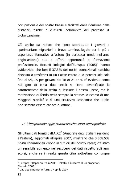 Anteprima della tesi: L'Italia vista dal mondo – Indagine sulla tv per gli italiani all'estero, Pagina 5