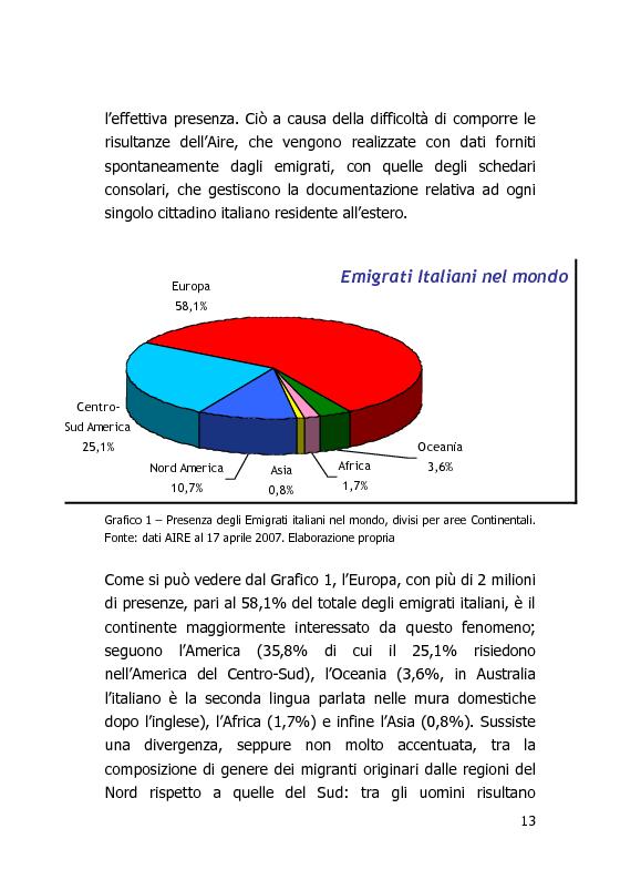 Anteprima della tesi: L'Italia vista dal mondo – Indagine sulla tv per gli italiani all'estero, Pagina 6