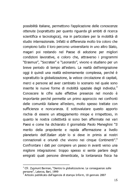 Anteprima della tesi: L'Italia vista dal mondo – Indagine sulla tv per gli italiani all'estero, Pagina 8