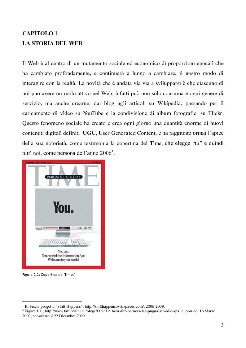 Anteprima della tesi: Tecnologie semantiche applicate alla Web Promotion in ambito turistico, Pagina 1