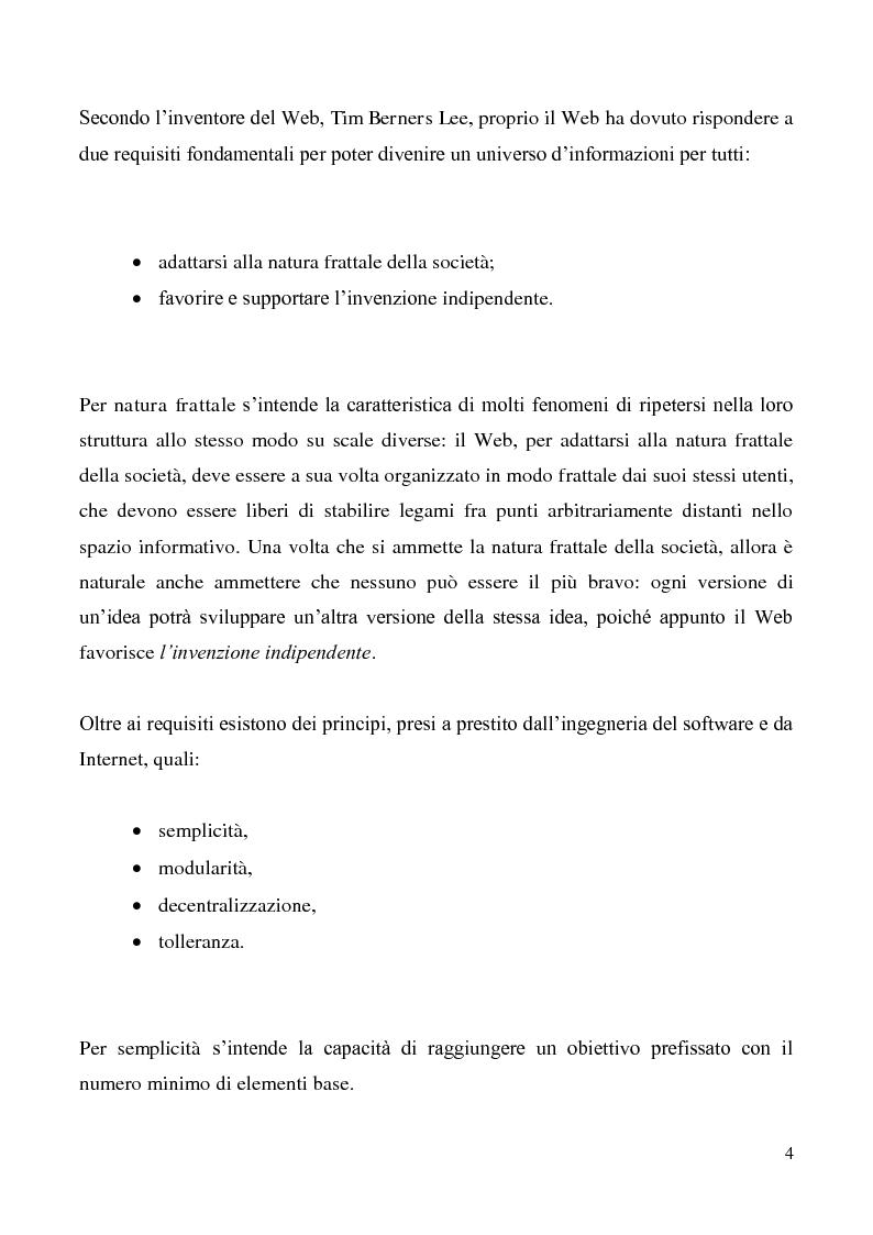 Anteprima della tesi: Tecnologie semantiche applicate alla Web Promotion in ambito turistico, Pagina 2