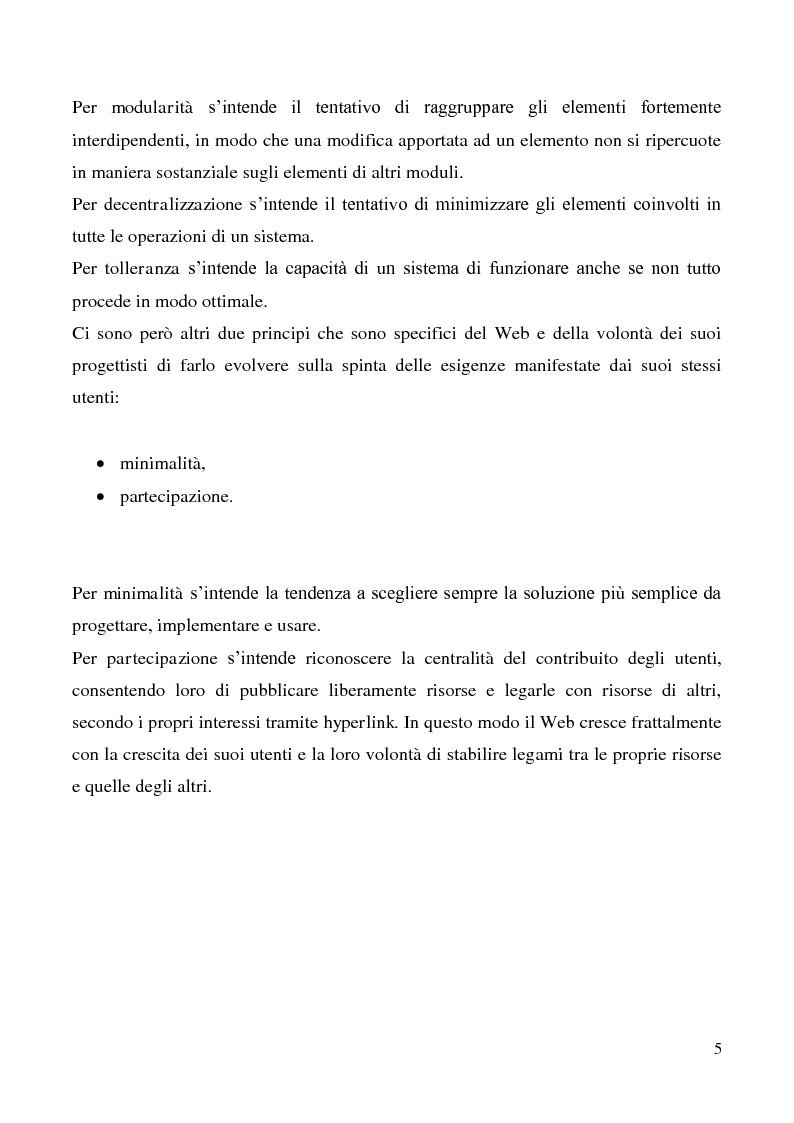 Anteprima della tesi: Tecnologie semantiche applicate alla Web Promotion in ambito turistico, Pagina 3
