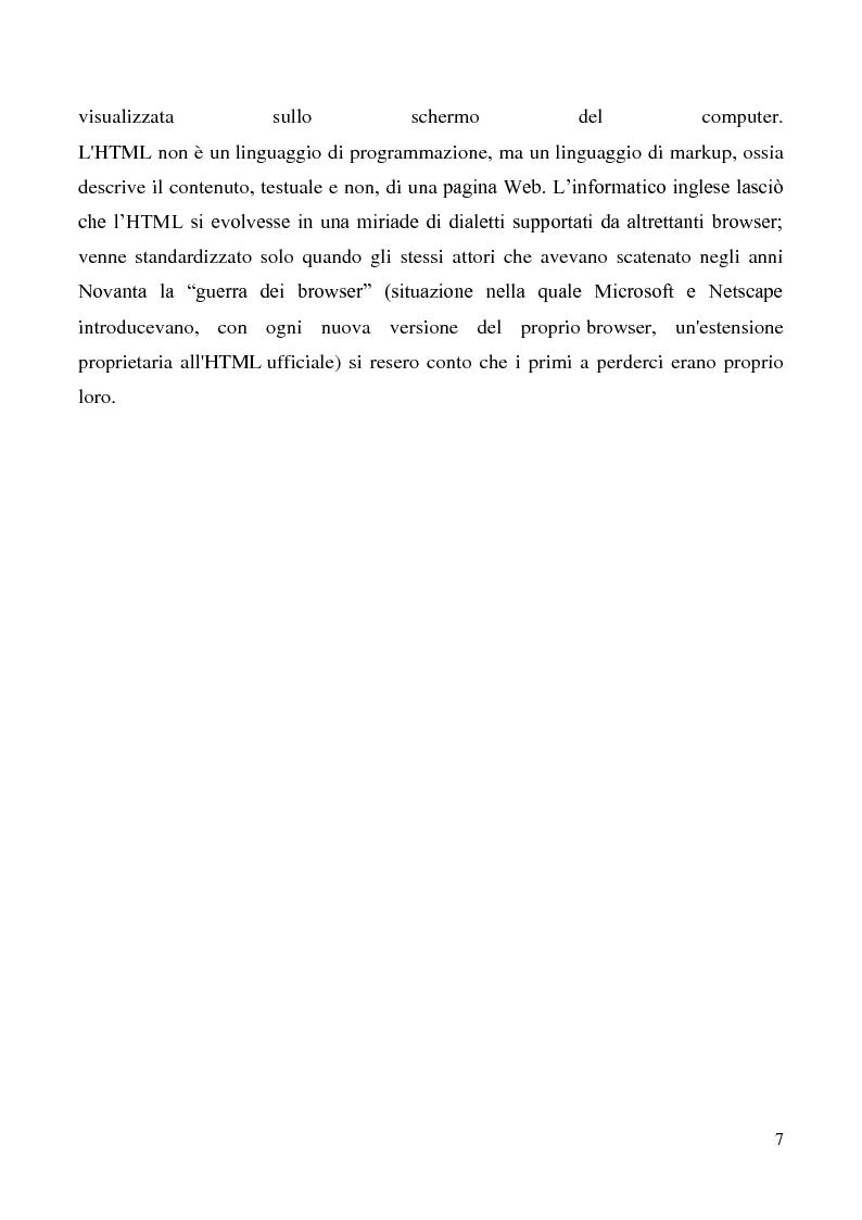 Anteprima della tesi: Tecnologie semantiche applicate alla Web Promotion in ambito turistico, Pagina 5